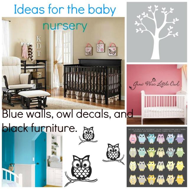 Ideas for the baby nursery