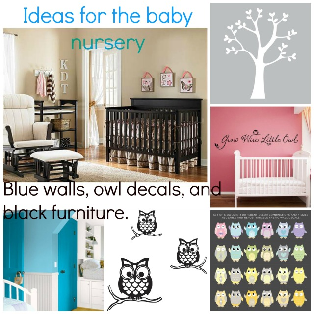 Ideas for the baby nursery