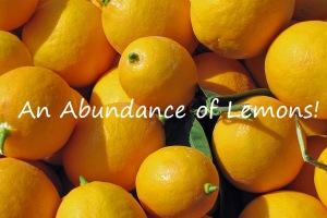 An Abudnance of Lemons