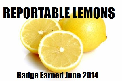 Lemon badge