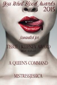 a-queens-command-mistressjessica-tissue-kleenex-award